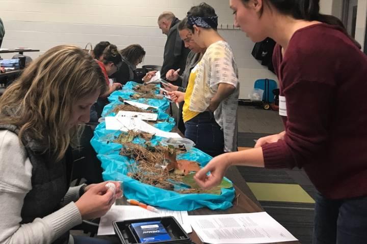 Alumni educators present water quality and corn fermentationactivities